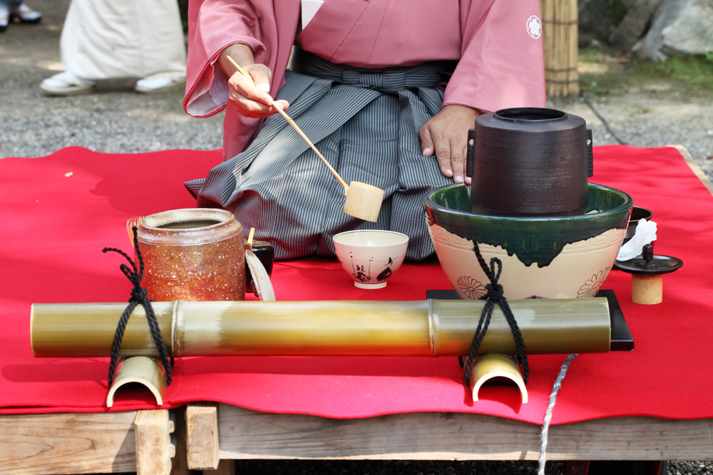 Outdoor Tea Ceremony