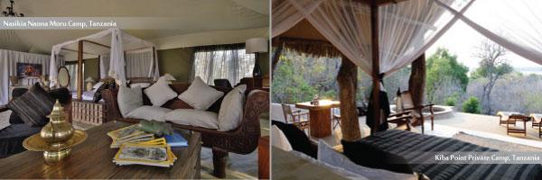Luxury Camps in Tanzania