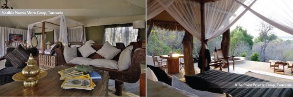 Luxury Camps in Tanzania