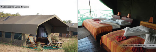 Standard Level Camps in Tanzania