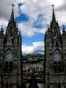 La Basilica Church, Quito, Ecuador