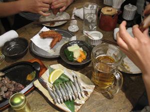 An Izakaya in Tokyo