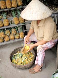 Pineapple Stall