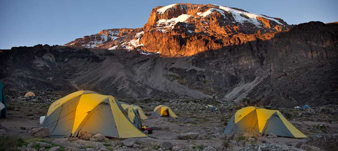 Camp Near Barranco