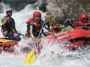 Whitewater Rafting Down the Rio Tambopata