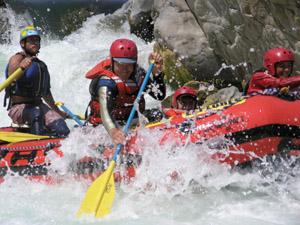 Whitewater Rafting Down the Rio Tambopata