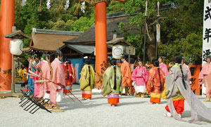 Hollyhock Festival Japan