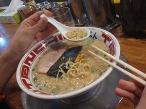 Tonchin Ramen in Tokyo