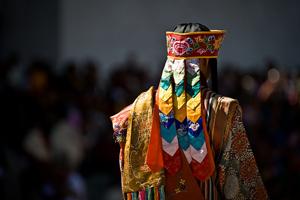 Thimphu Tsechu Festival Dancer