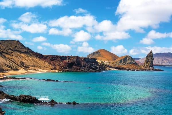 Bartolome Galapagos Islands Landscape