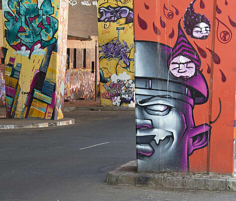 Graffiti Art Johannesburg