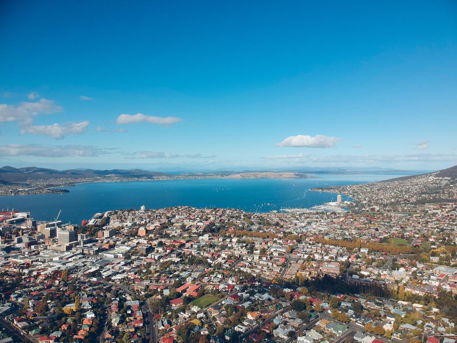 Hobart- Aerial View