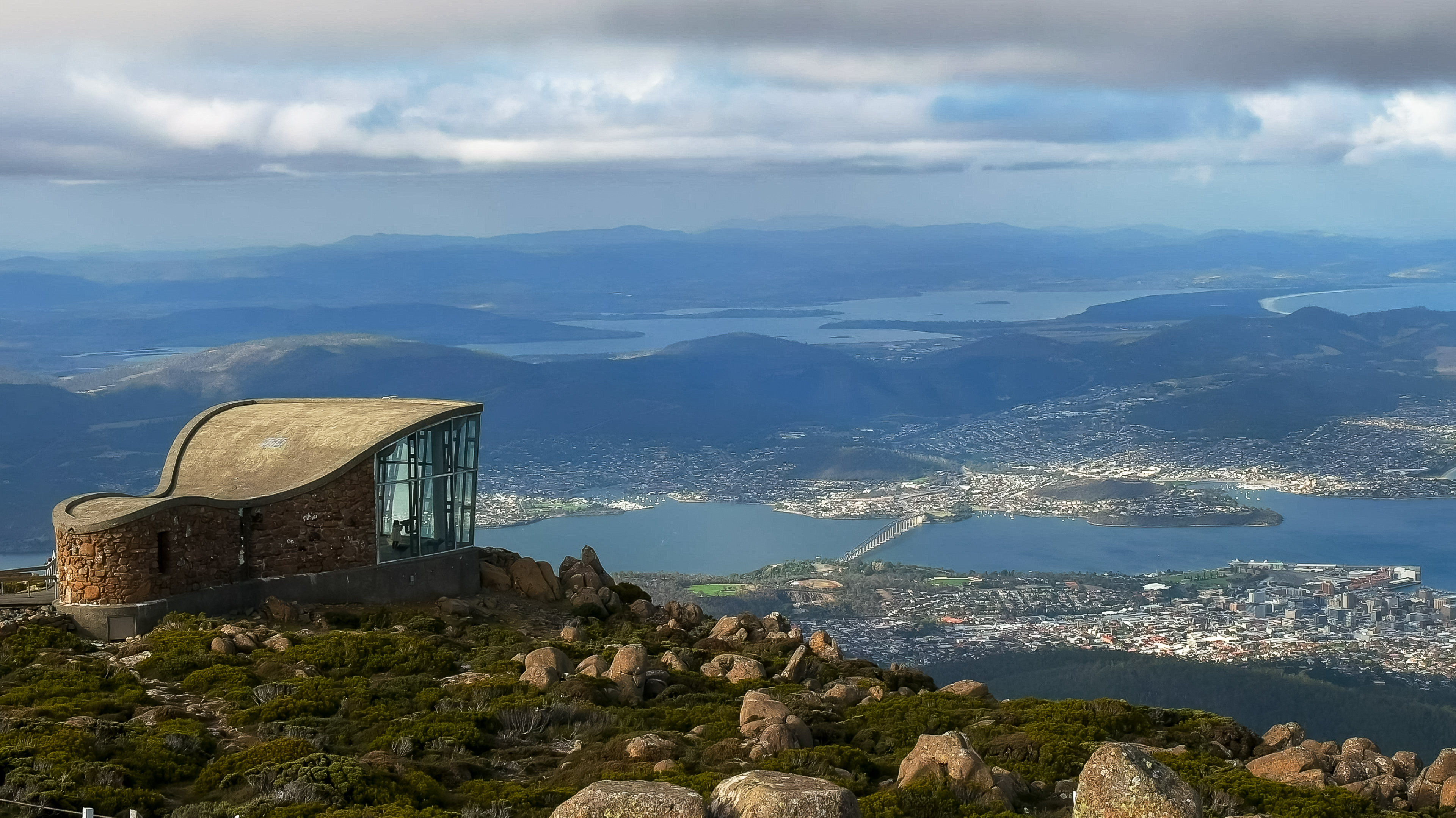 Hobart-Mt Wellington View