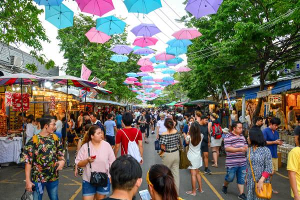 Market in Bangkok