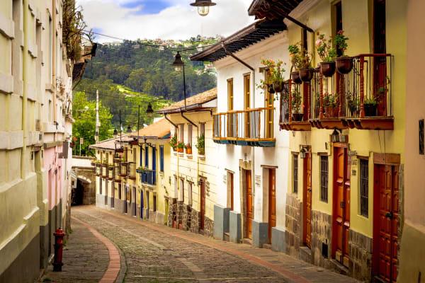Quito City Street