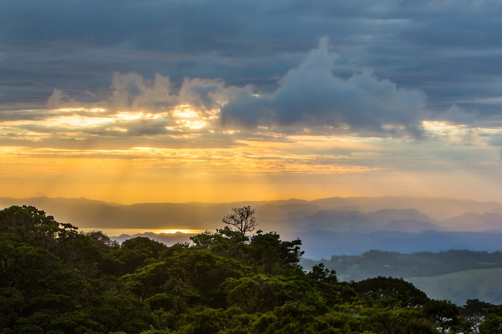 Sunset at Monteverde