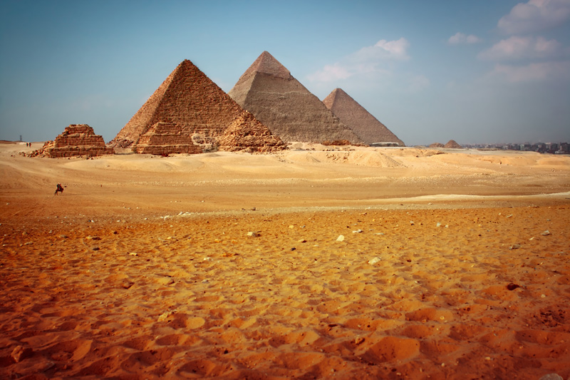 bigstock-Giza-valley-with-Great-pyramid-14019965