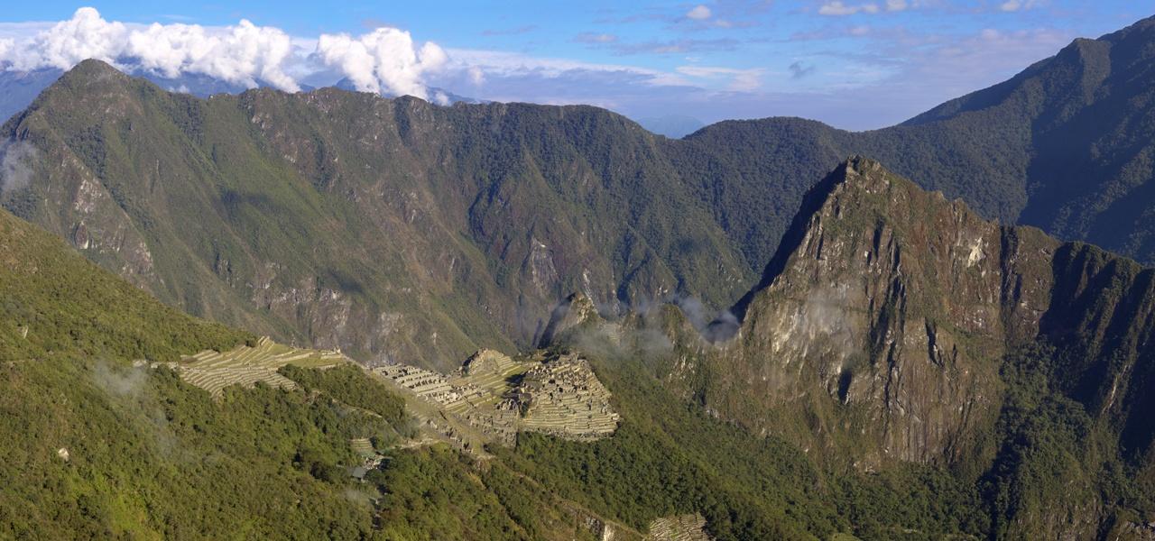 Machu Picchu From The Sungate