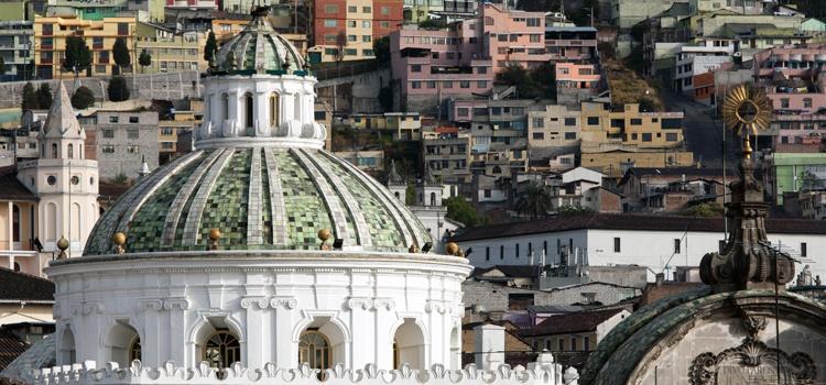 Cathedral in Quito, Ecuador