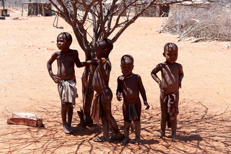 bigstock-Unidentified-Child-Himba-Tribe-161810573