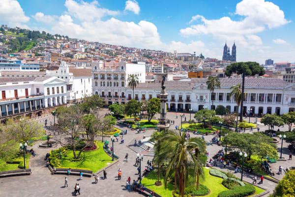 Quito Aerial View