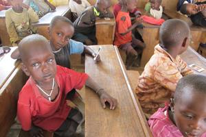 School children in Tanzania