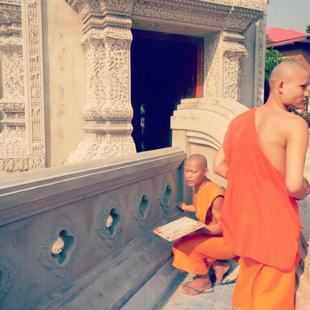 Monks in Phrae