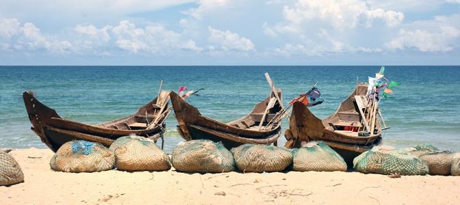 Boats in Danang