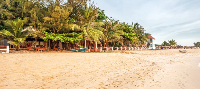 Beautiful Beach in Phu Quoc